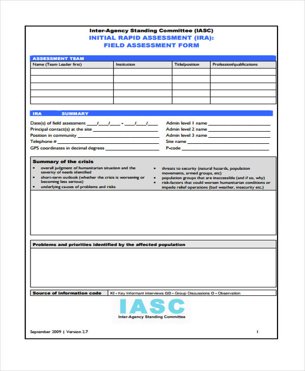 rapid needs assessment form1
