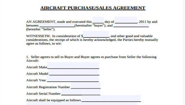Free 32 Sales Agreement Forms Pdf