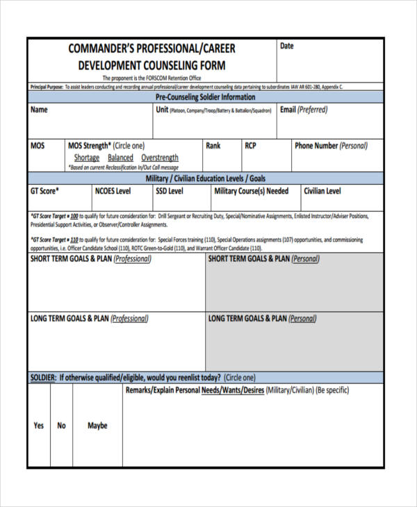 school developmental counseling form1