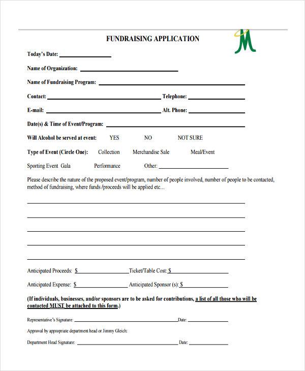 school fundraiser program