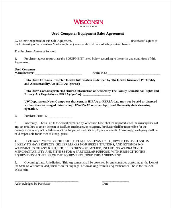 used computer equipment sales agreement2