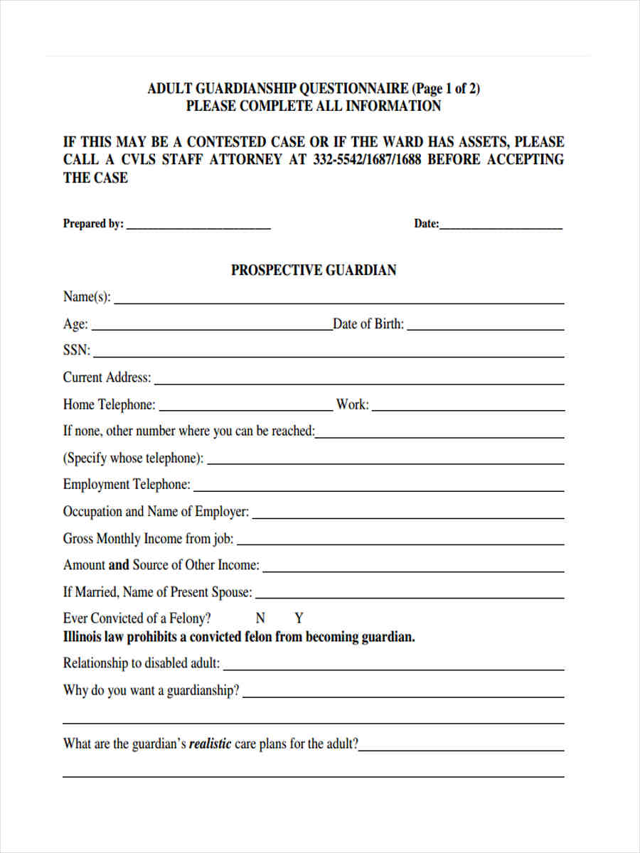free 39  questionnaire forms