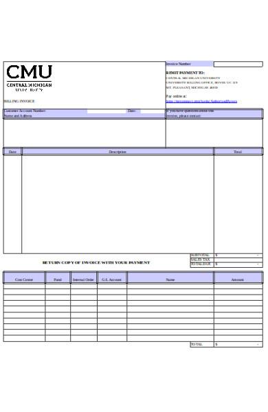 billing invoice form1