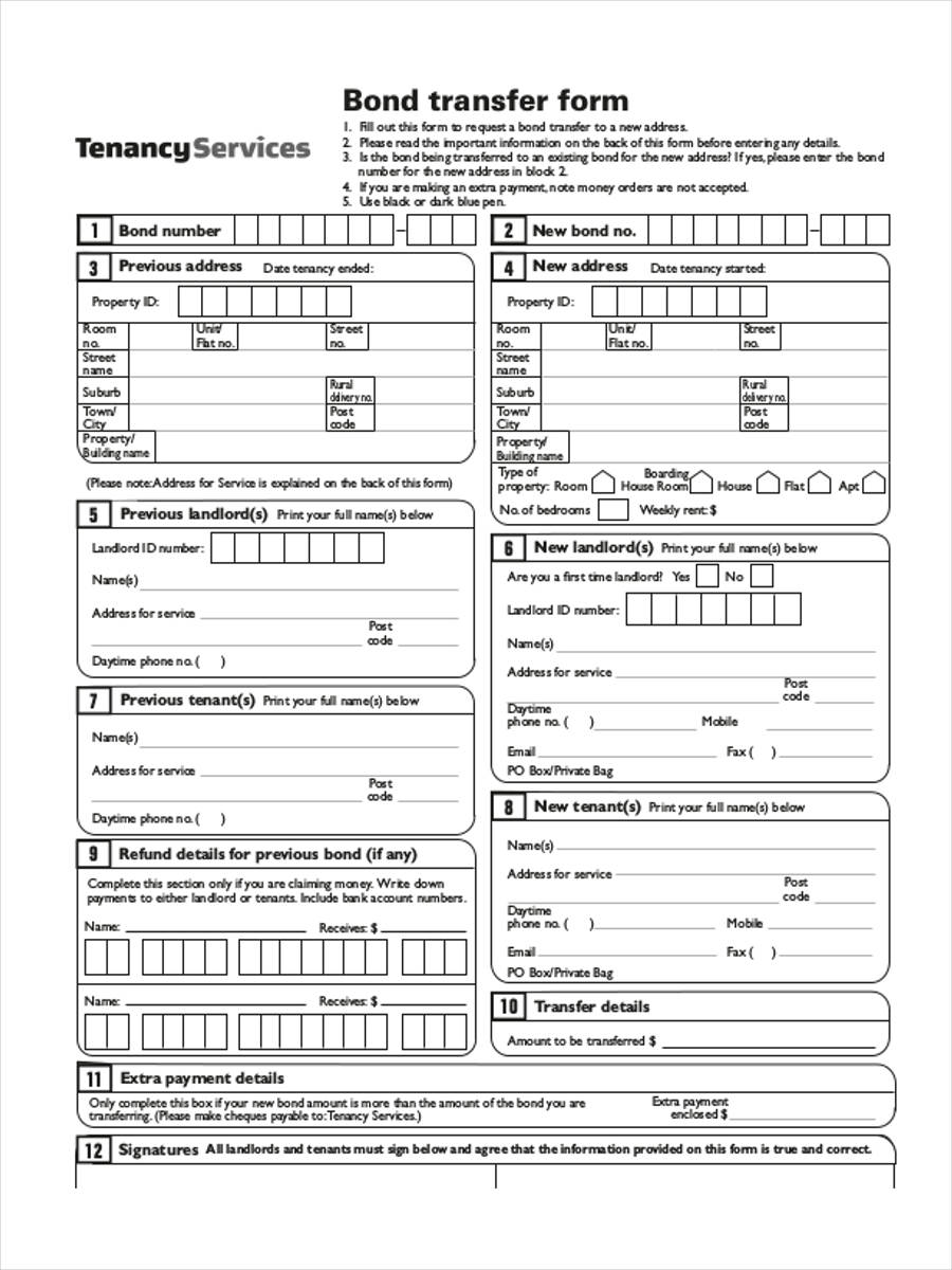 blank transfer in pdf