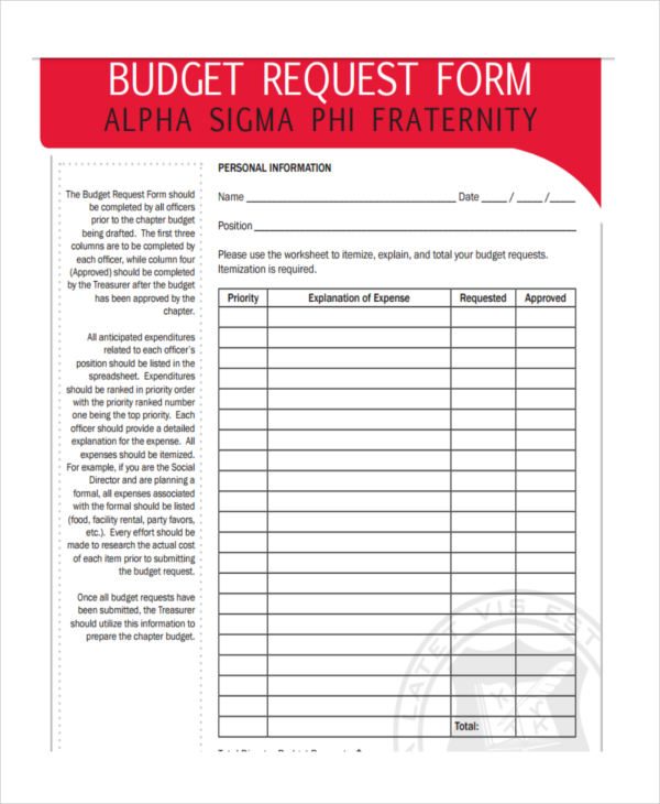 How to Write a Budget Request