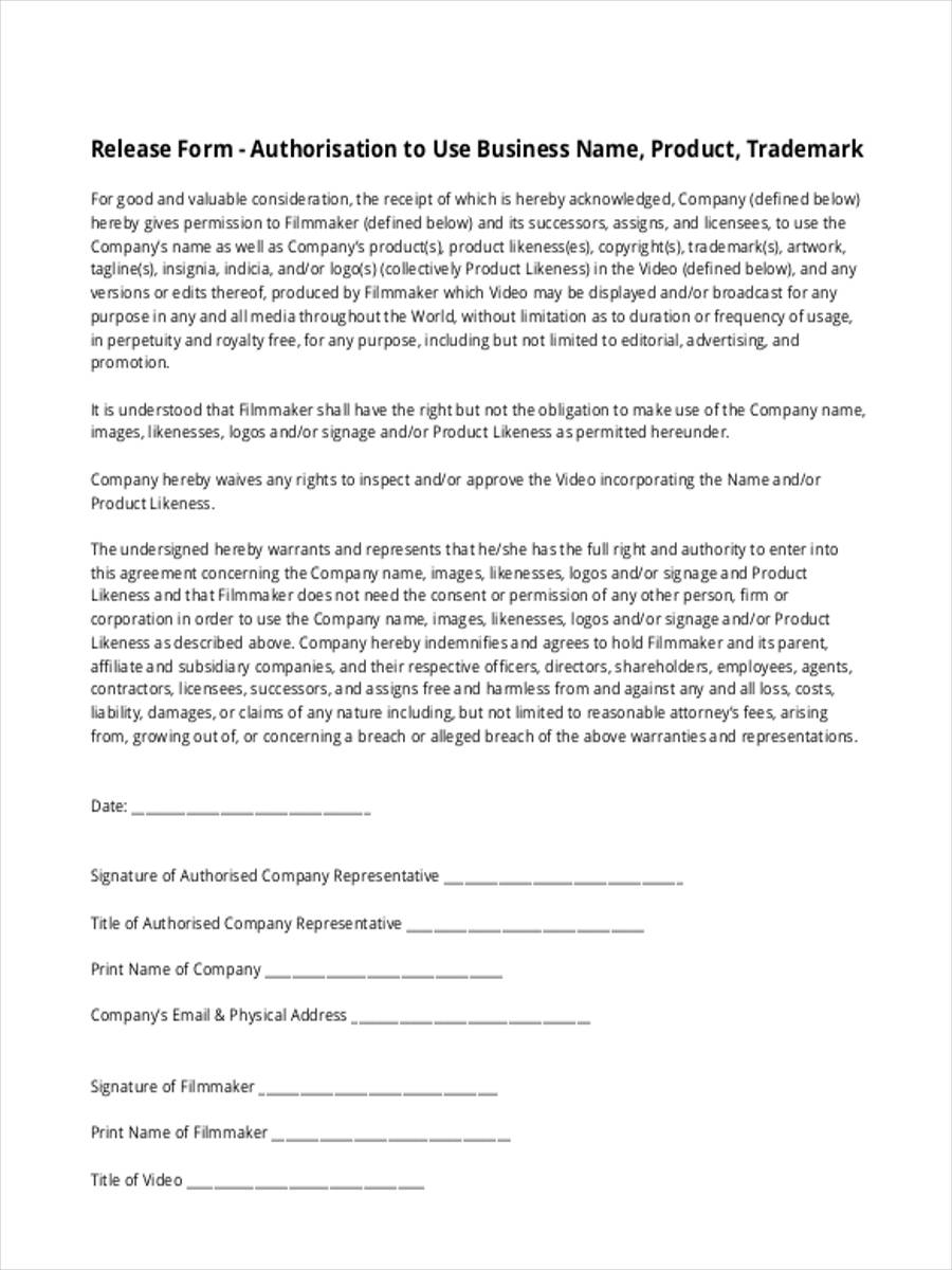 Liability Waiver Form Template Business Liability Release Liability Waiver  Form Template  Liability Release Letter