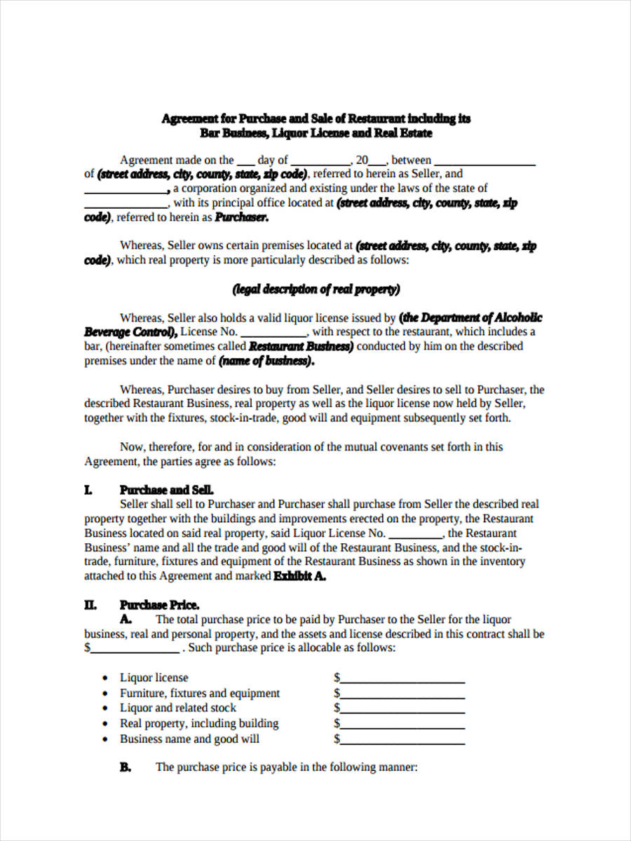 business purchase form1