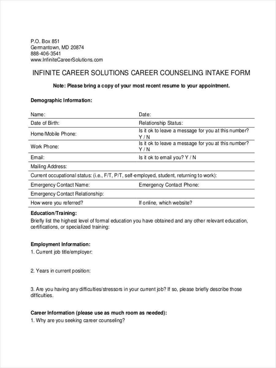 career counseling intake2