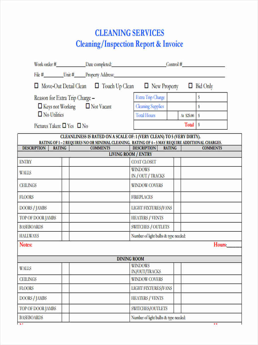 cleaning service invoice1