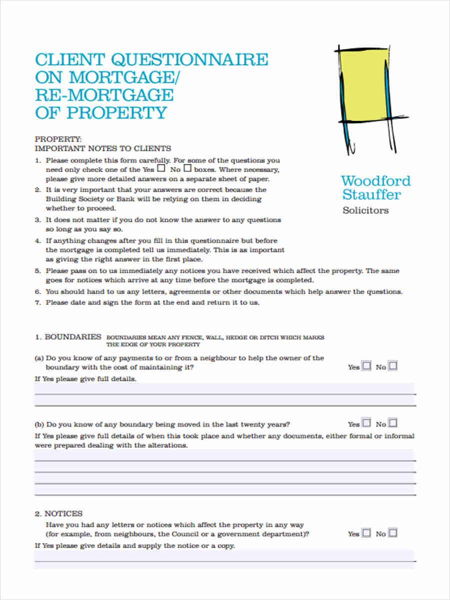 client mortgage questionnaire1
