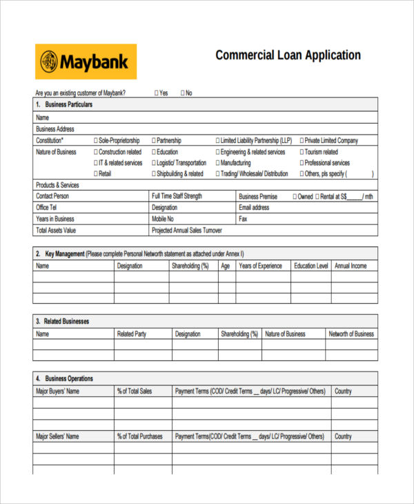 commercial loan property
