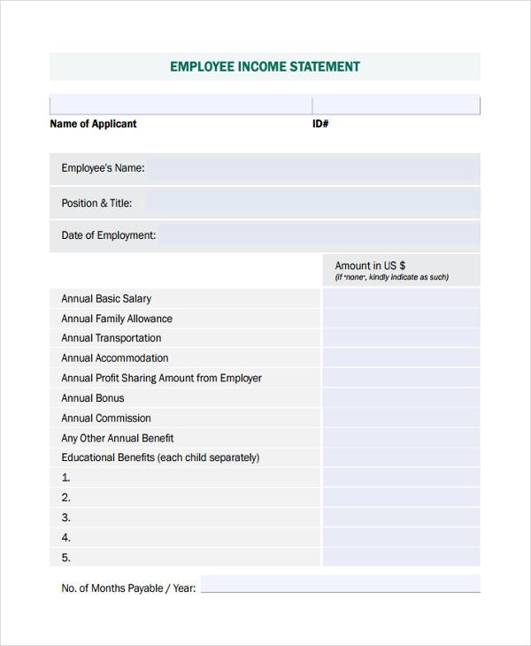 employee income1