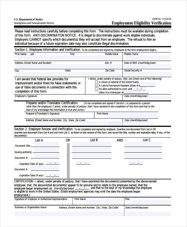 employer eligibility verification