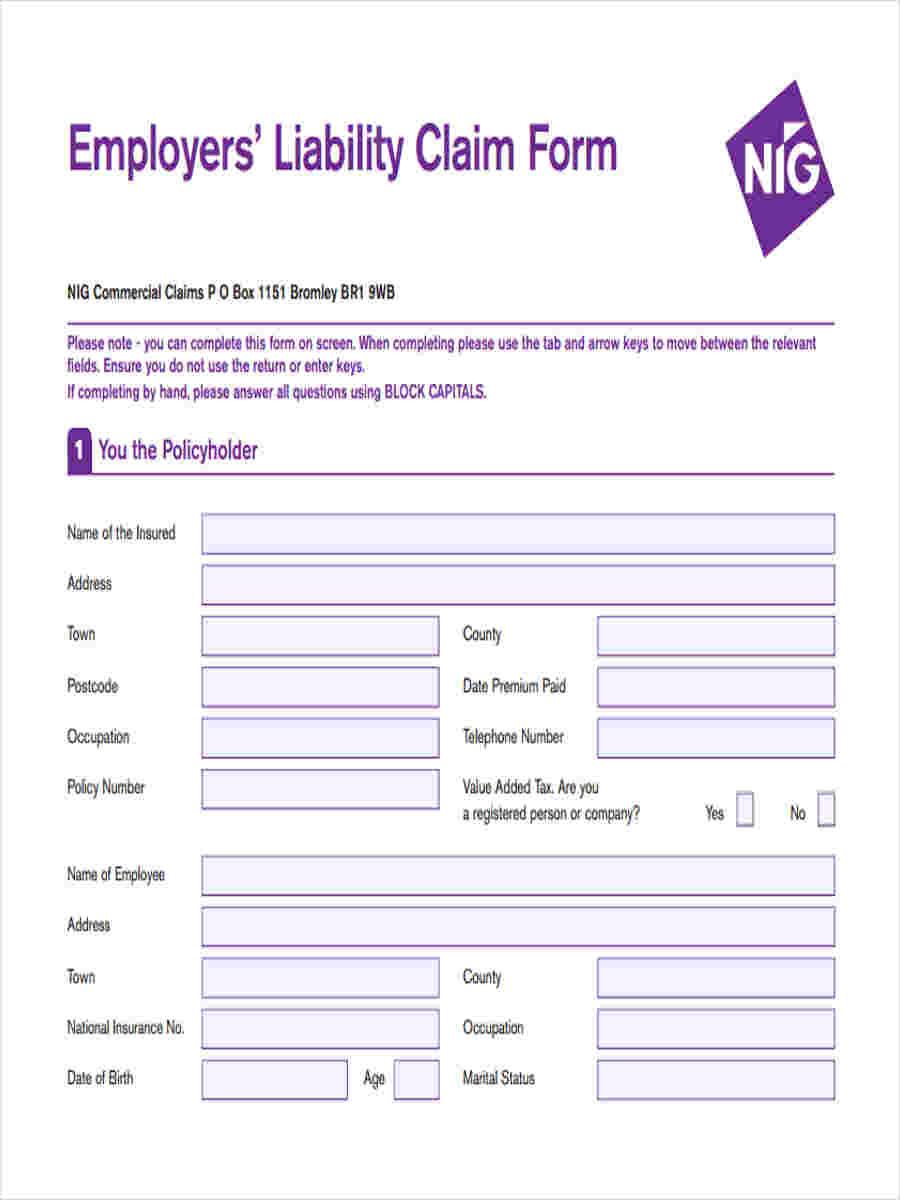 employers liability claim