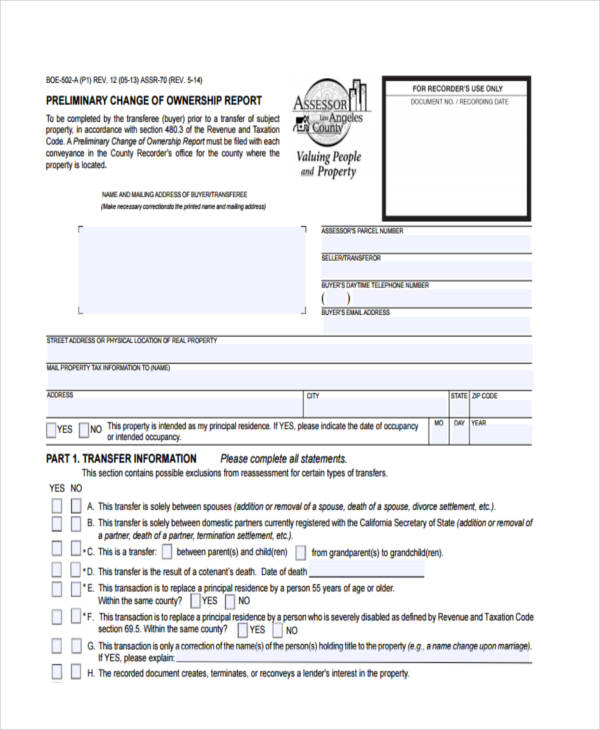 28+ Sample Deed Forms