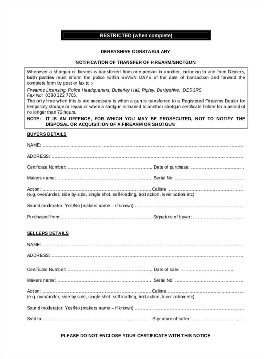 gun registration