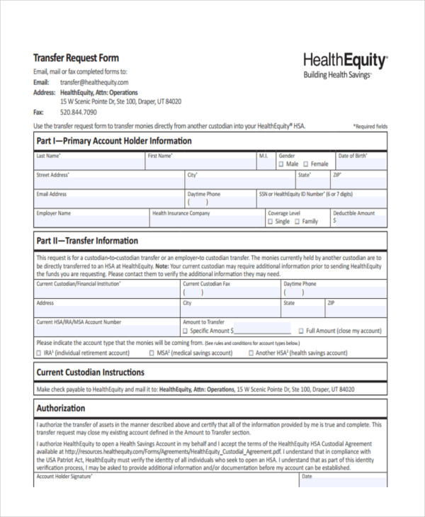 health equity transfer