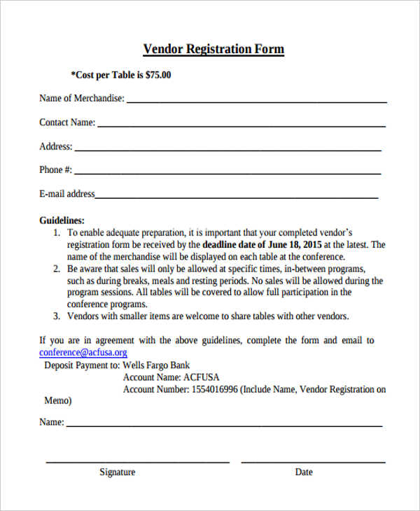 Free 11 Hotel Registration Forms In Pdf