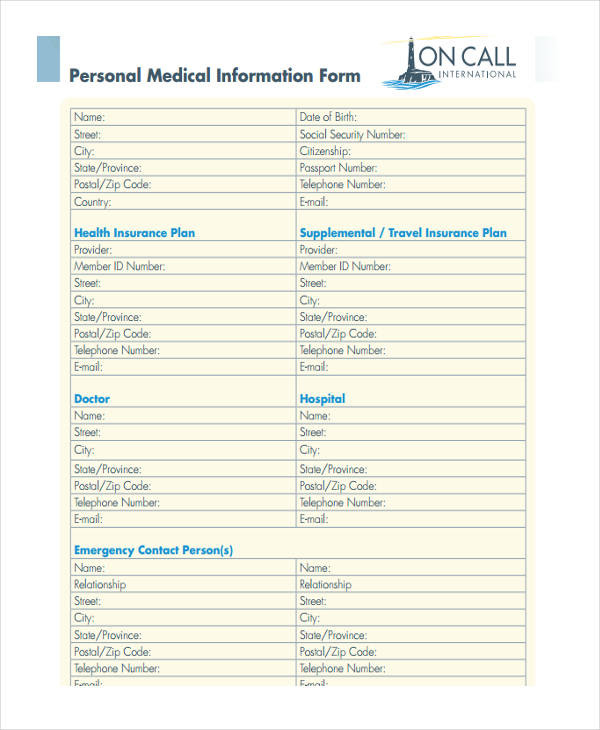 medical personal