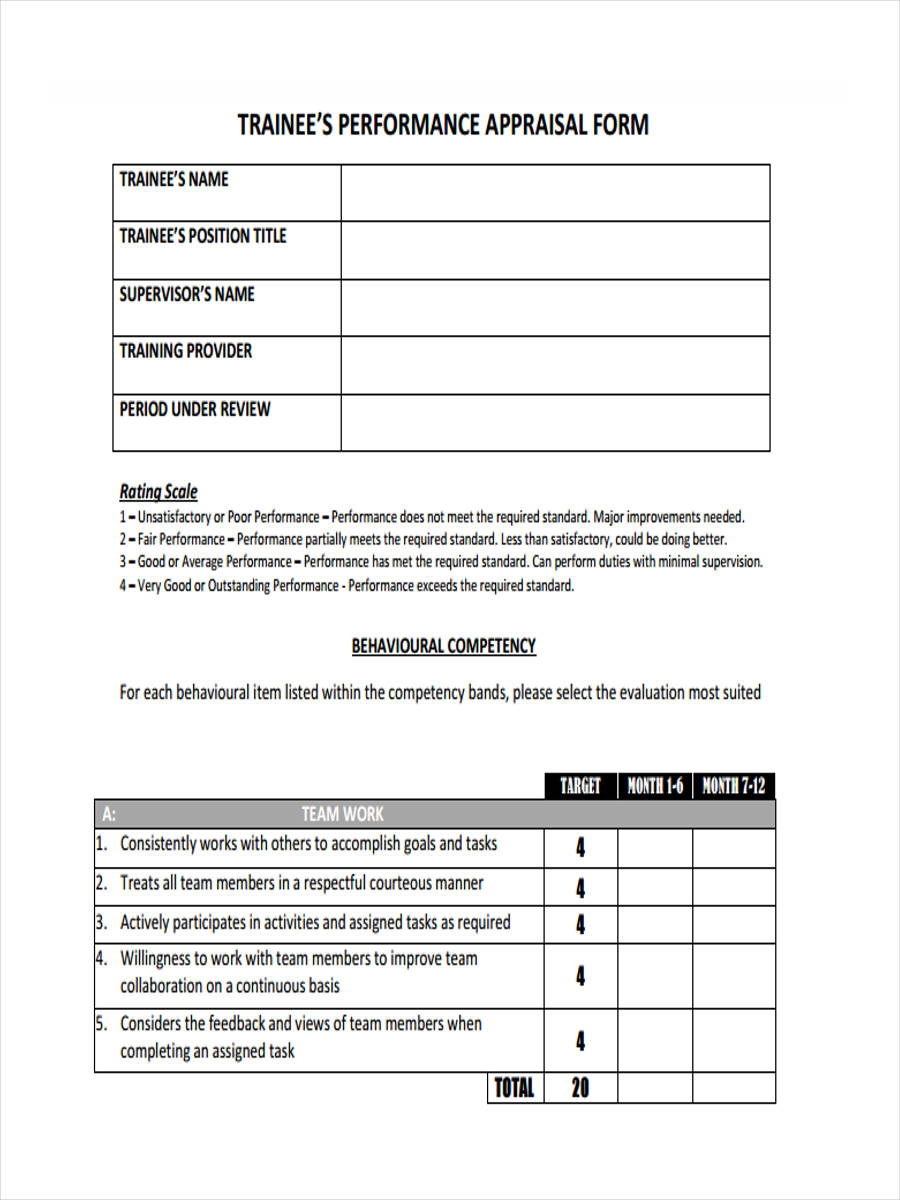 free 7  monthly review forms in pdf