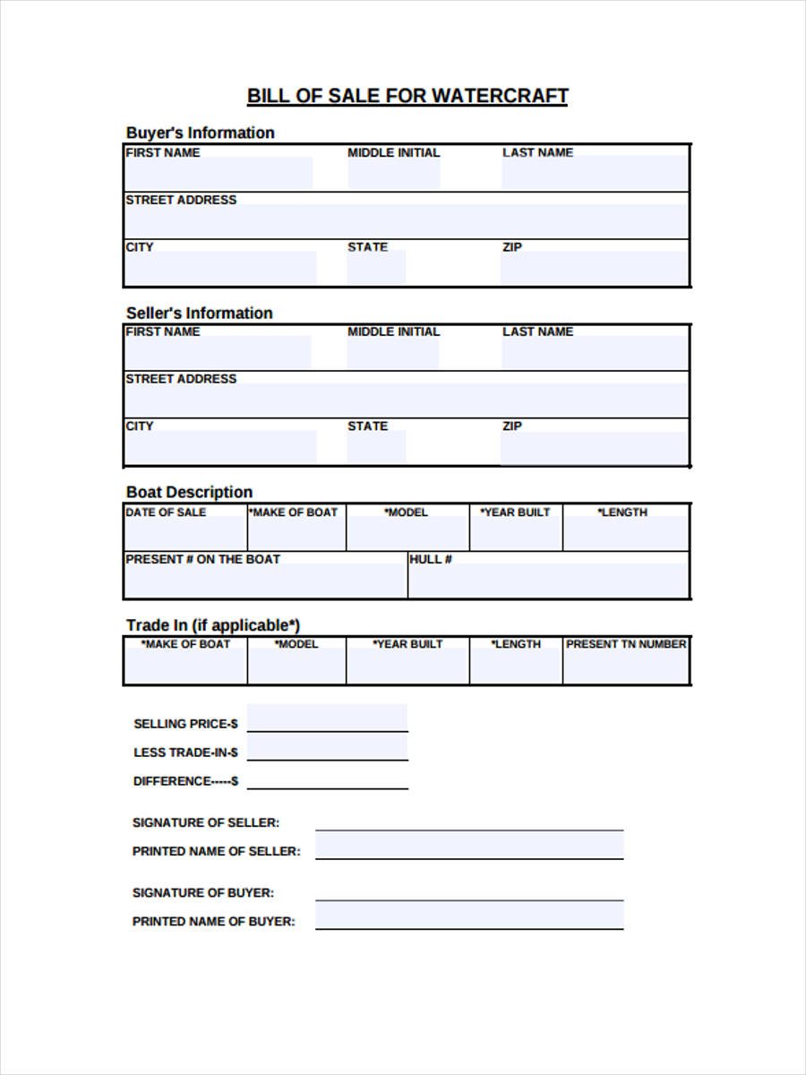 new watercraft bill of sale1