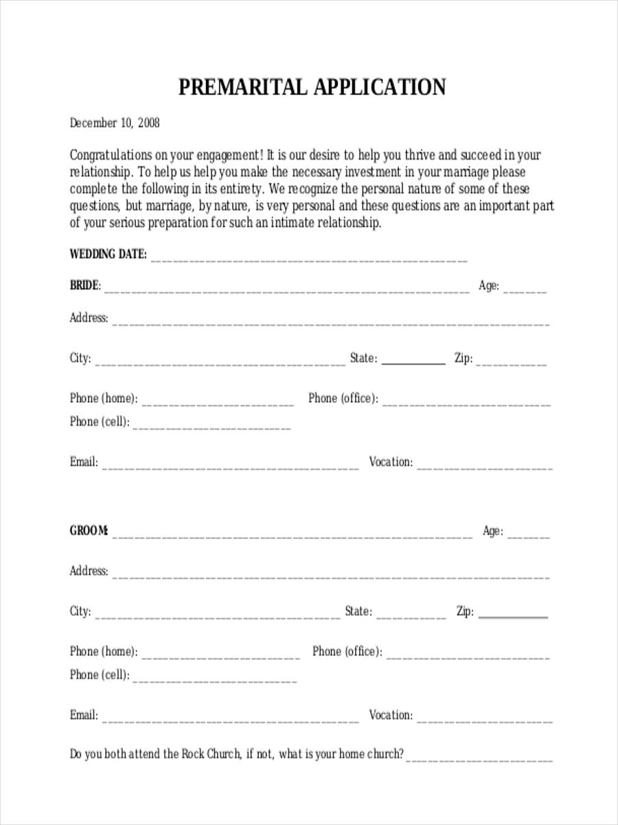 premarital counseling application