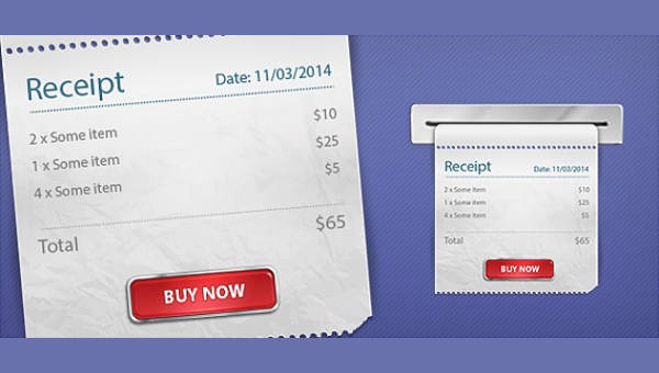 6 service receipt forms free samples examples format download