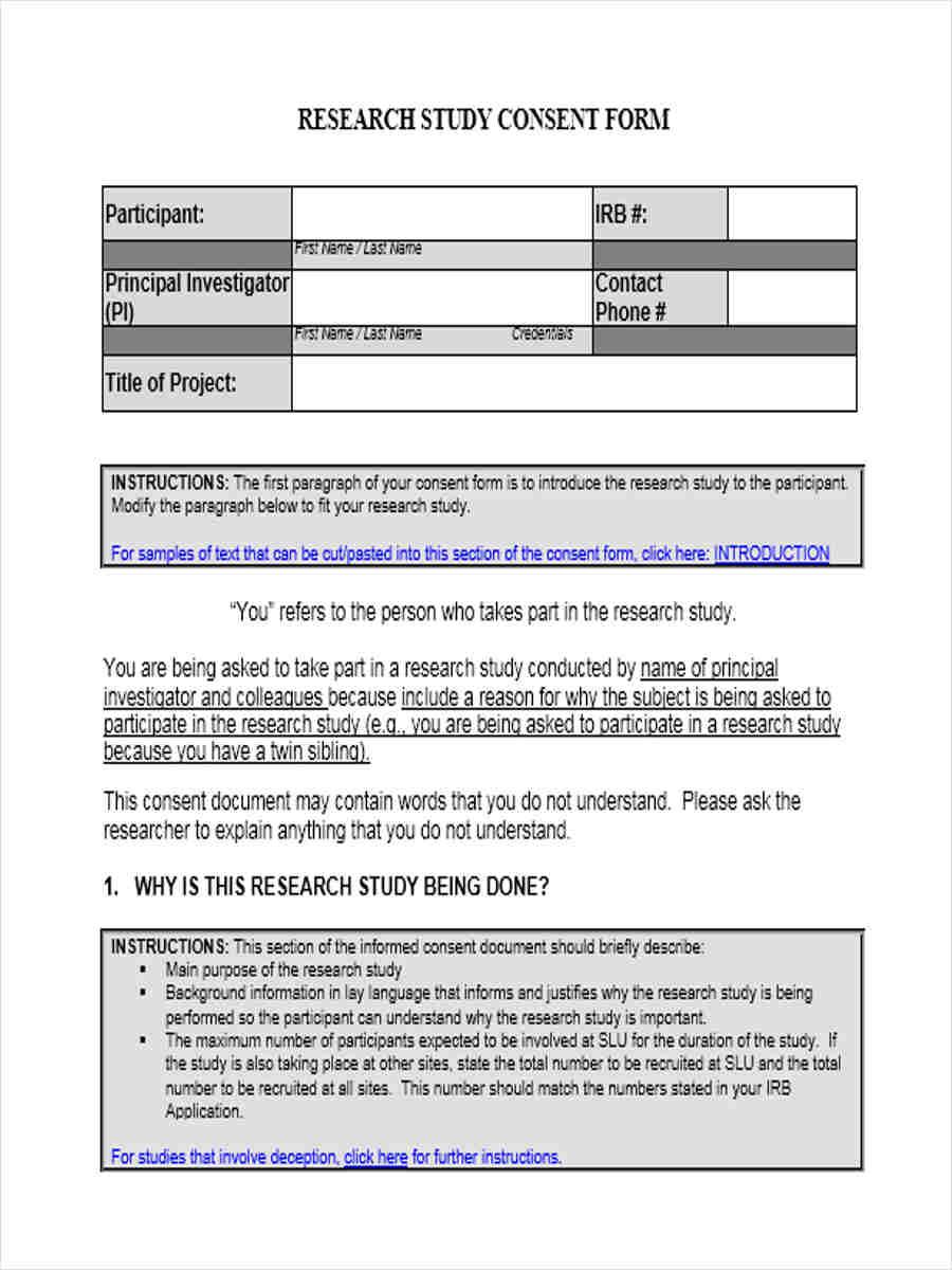 sample model consent