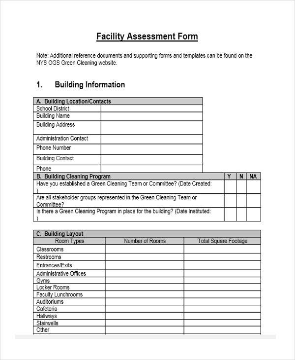 school facility assessment1