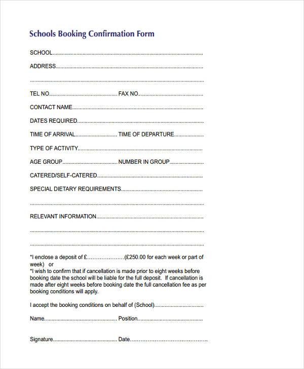 schools booking1