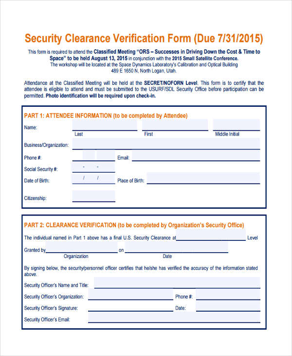 security clearance verification2