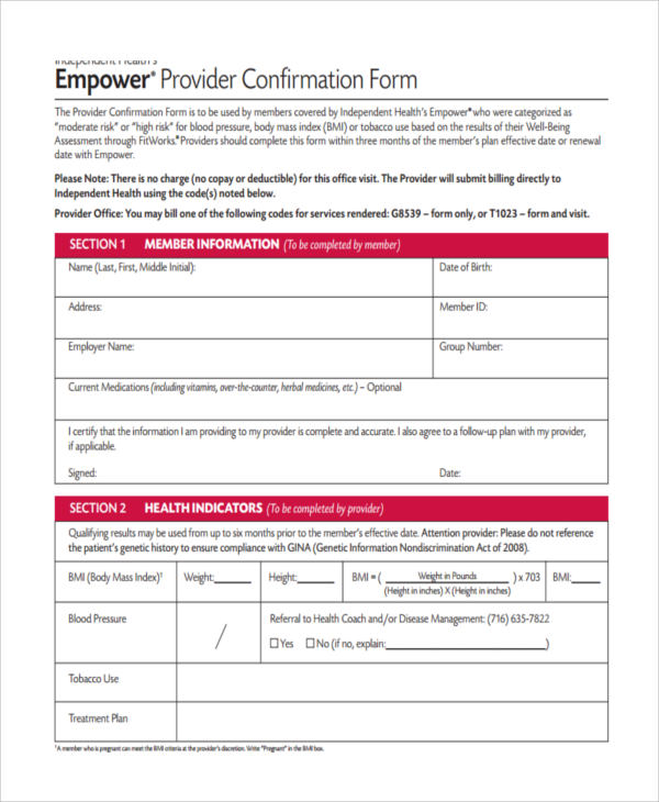 Service Confirmation Forms - 6+ Free Documents In Word, Pdf