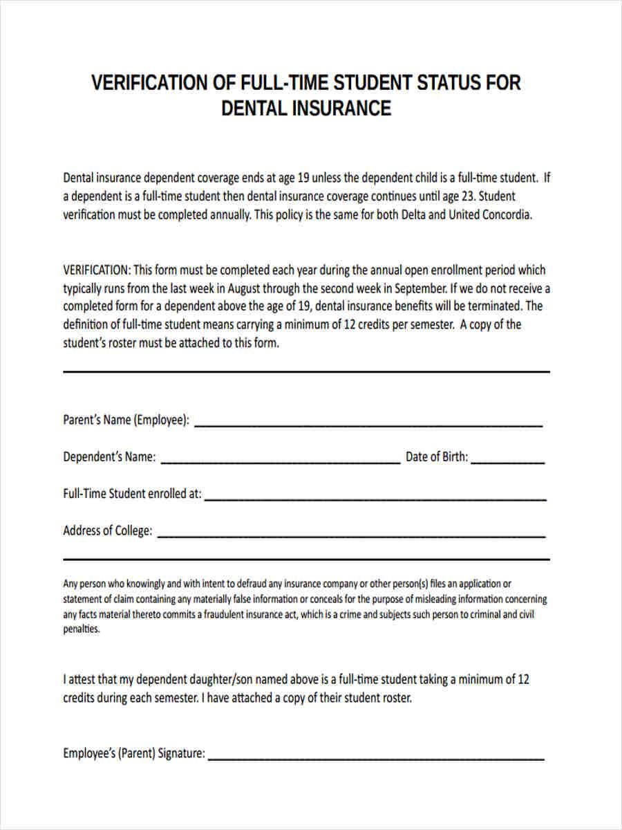 student dental insurance