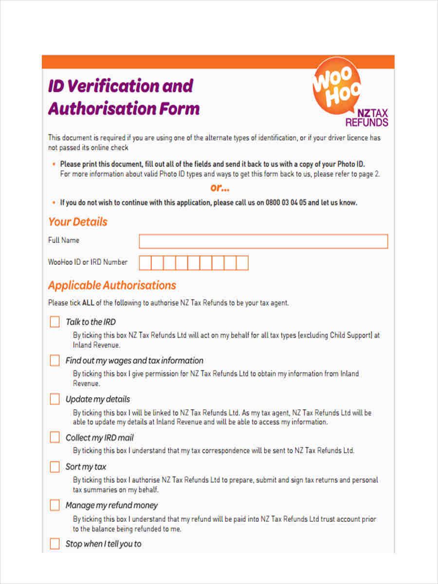 tax id verification