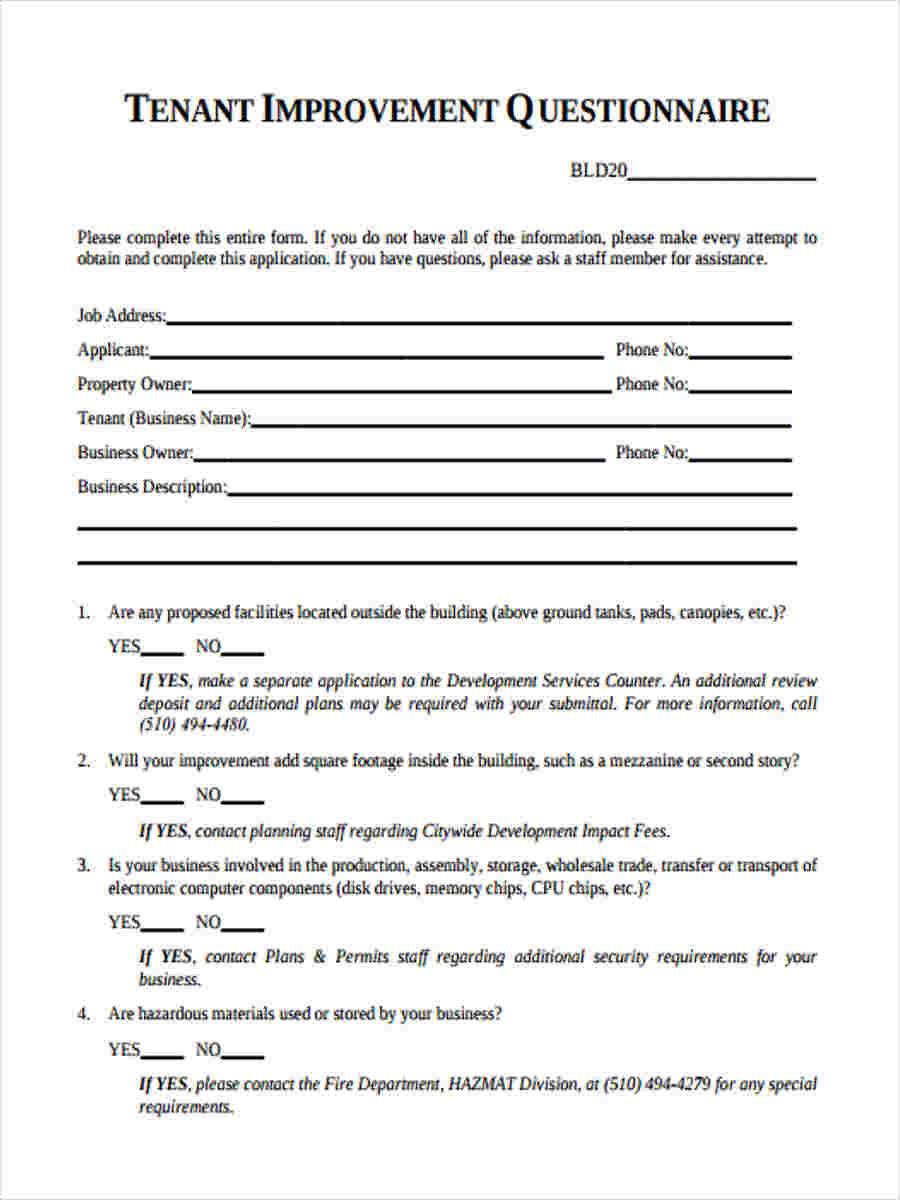 tenant improvement form2