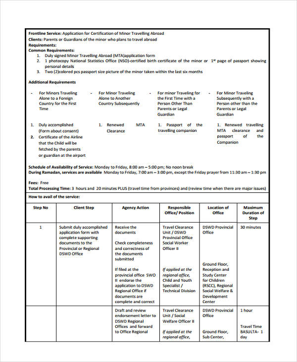 travel clearance application1