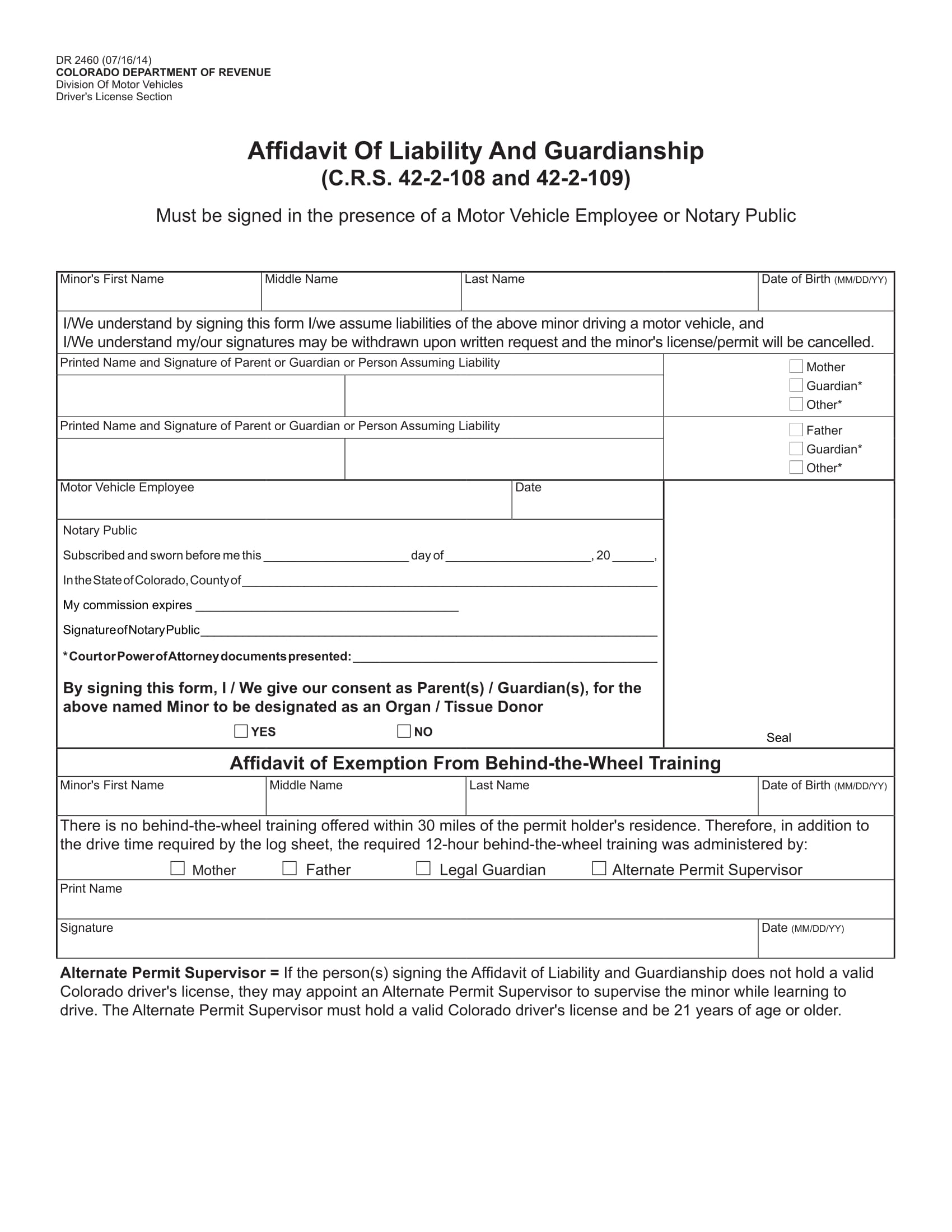 4 Examples Of Temporary Guardianship Forms And When To Use Them