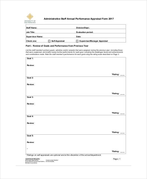 annual staff appraisal1