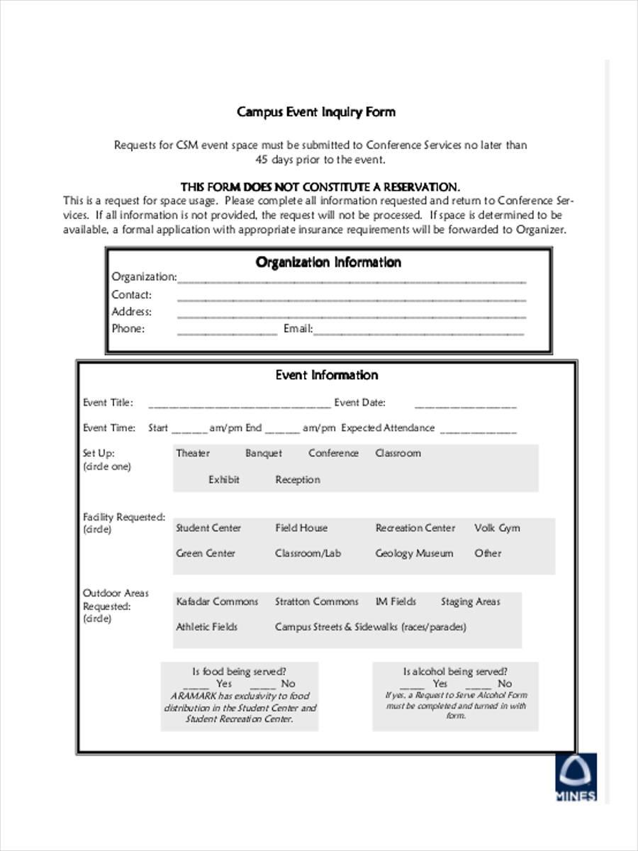 campus inquiry form