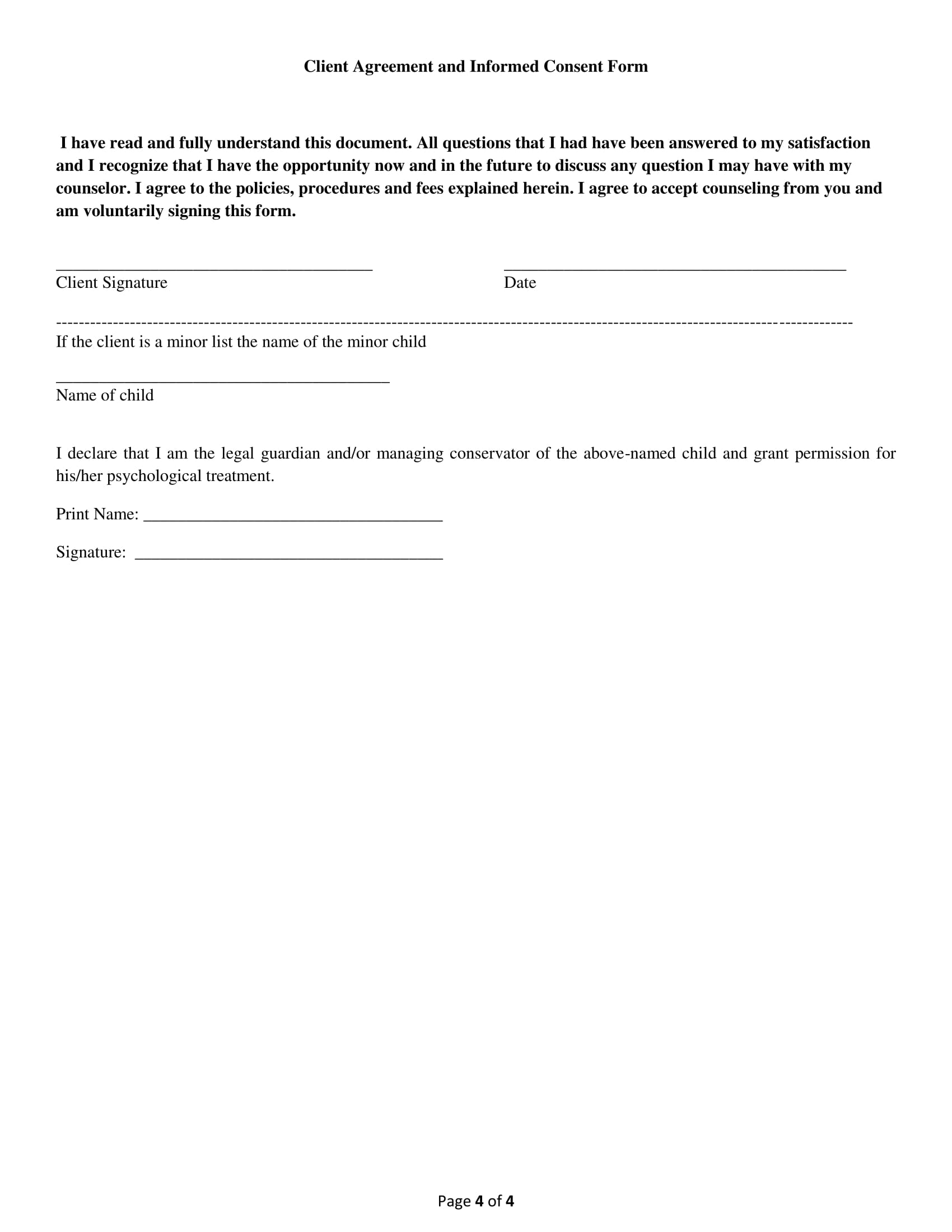 child counselling consent form 4