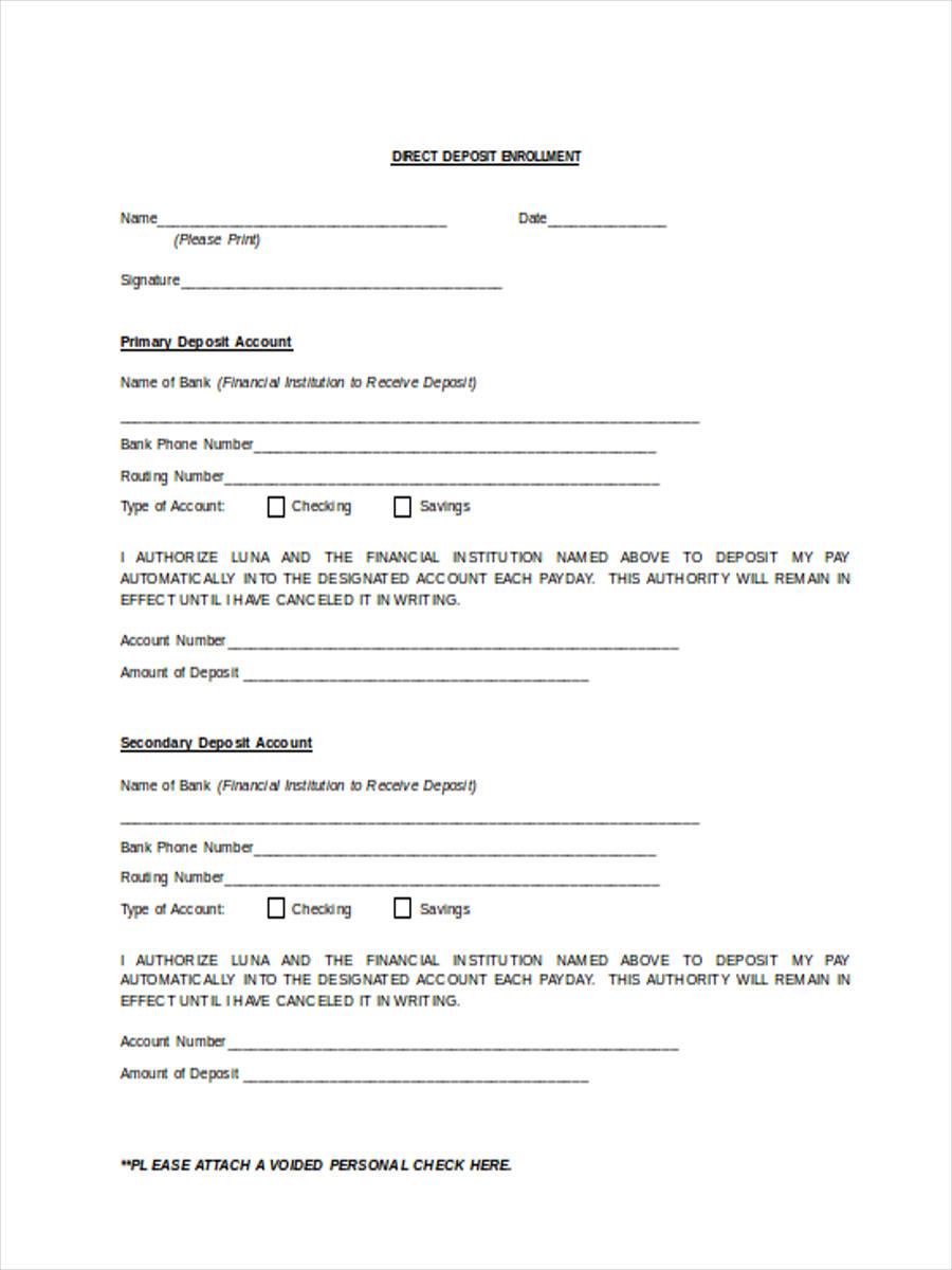 direct deposit enrollment1
