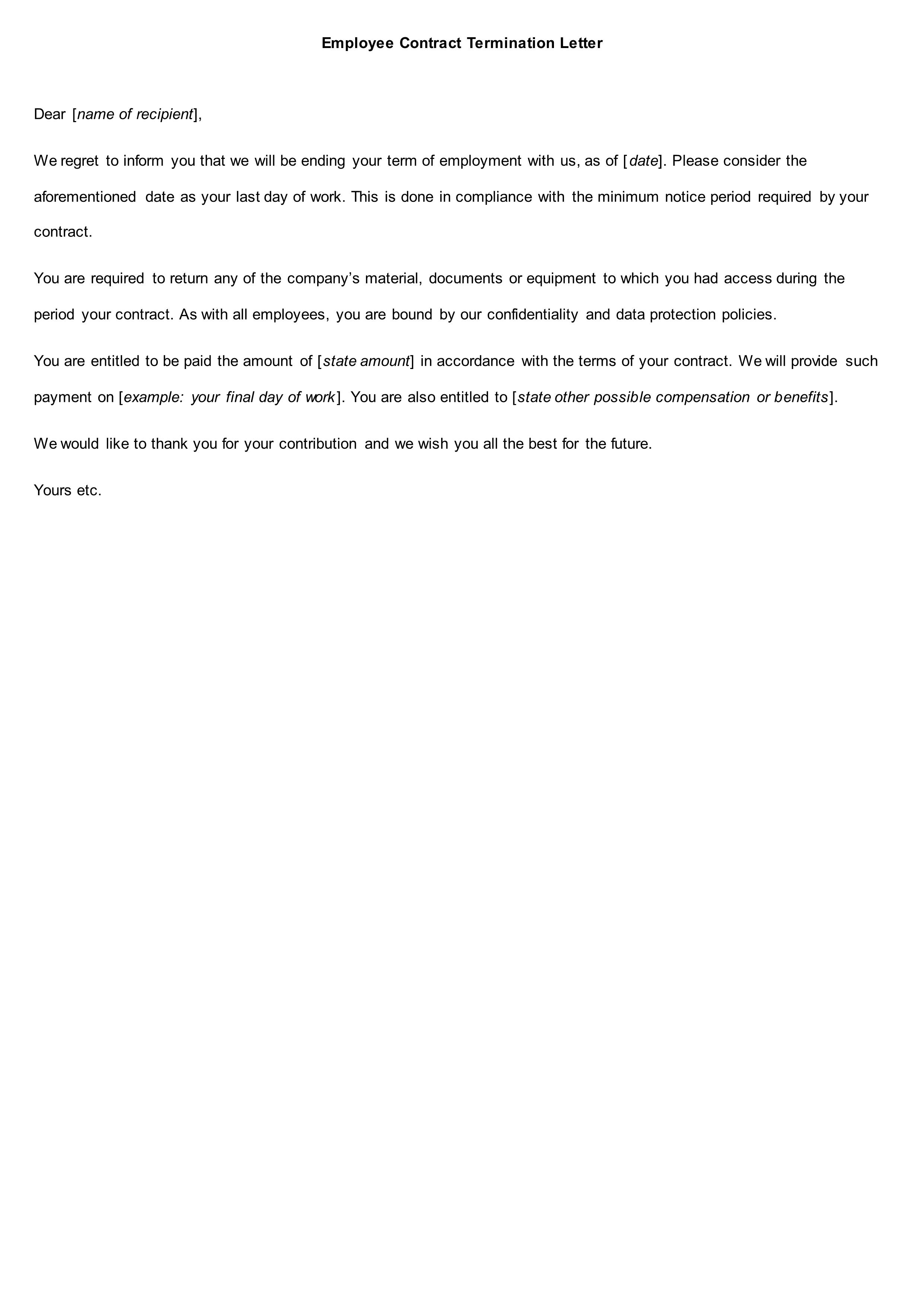 8 Functional Job Letters Recommendation Letter Letter of Interest