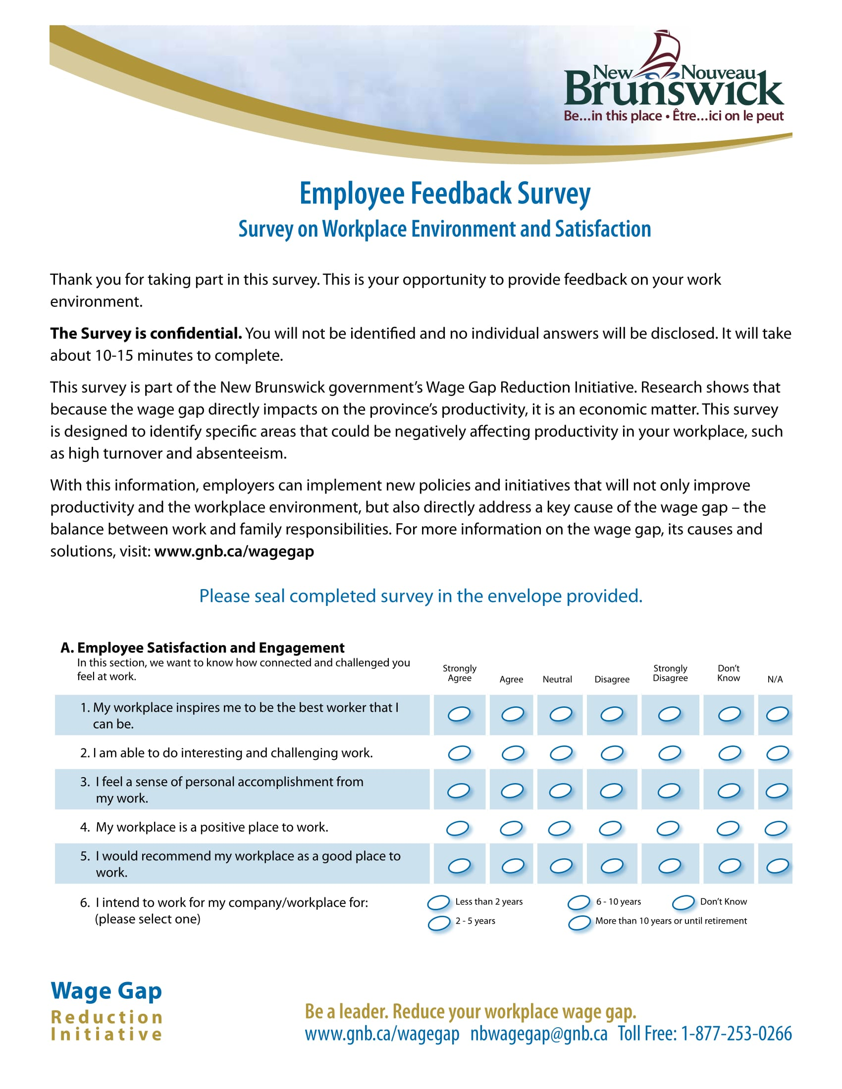 employee feedback survey 1