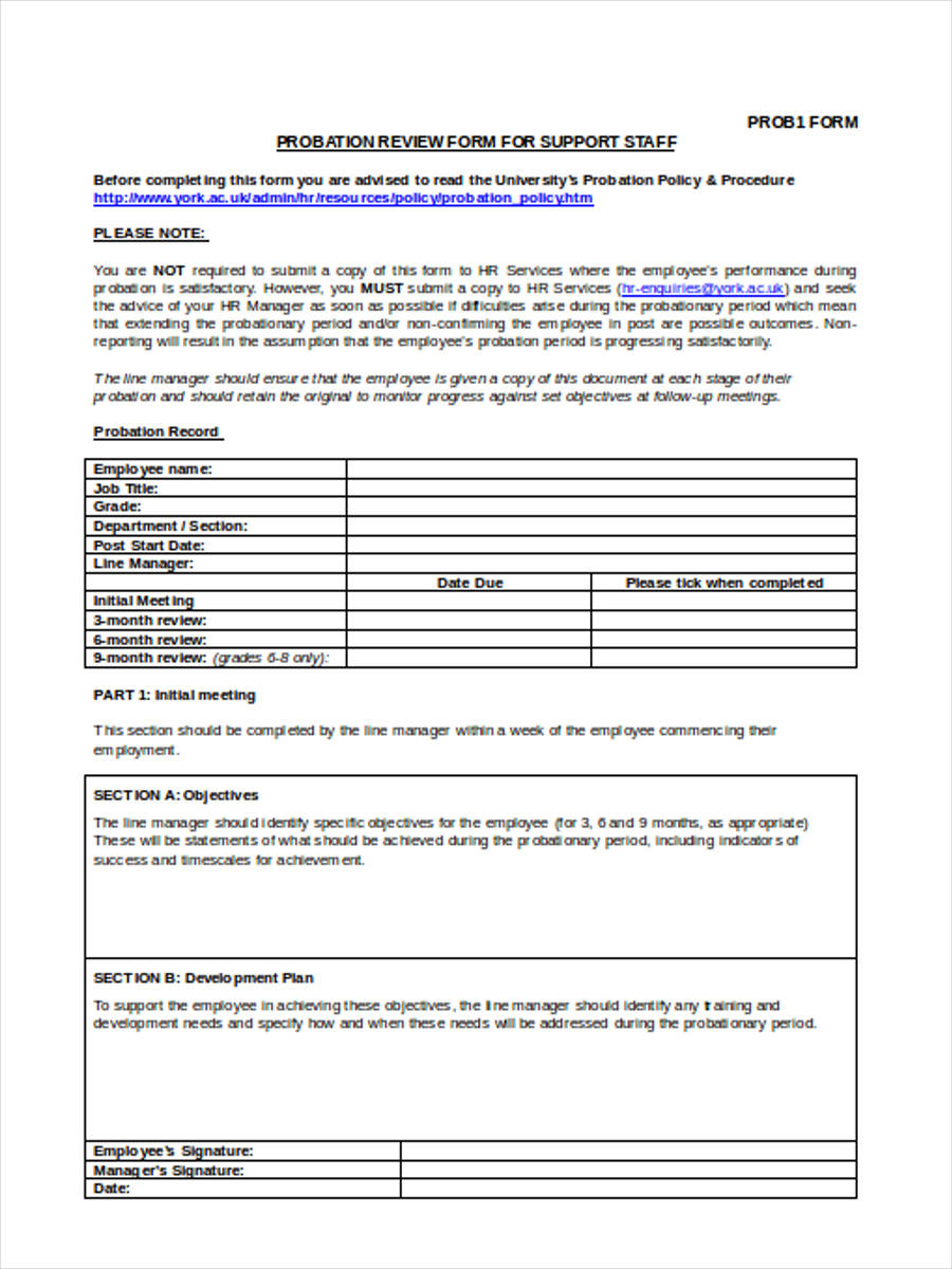 employee training assessment example