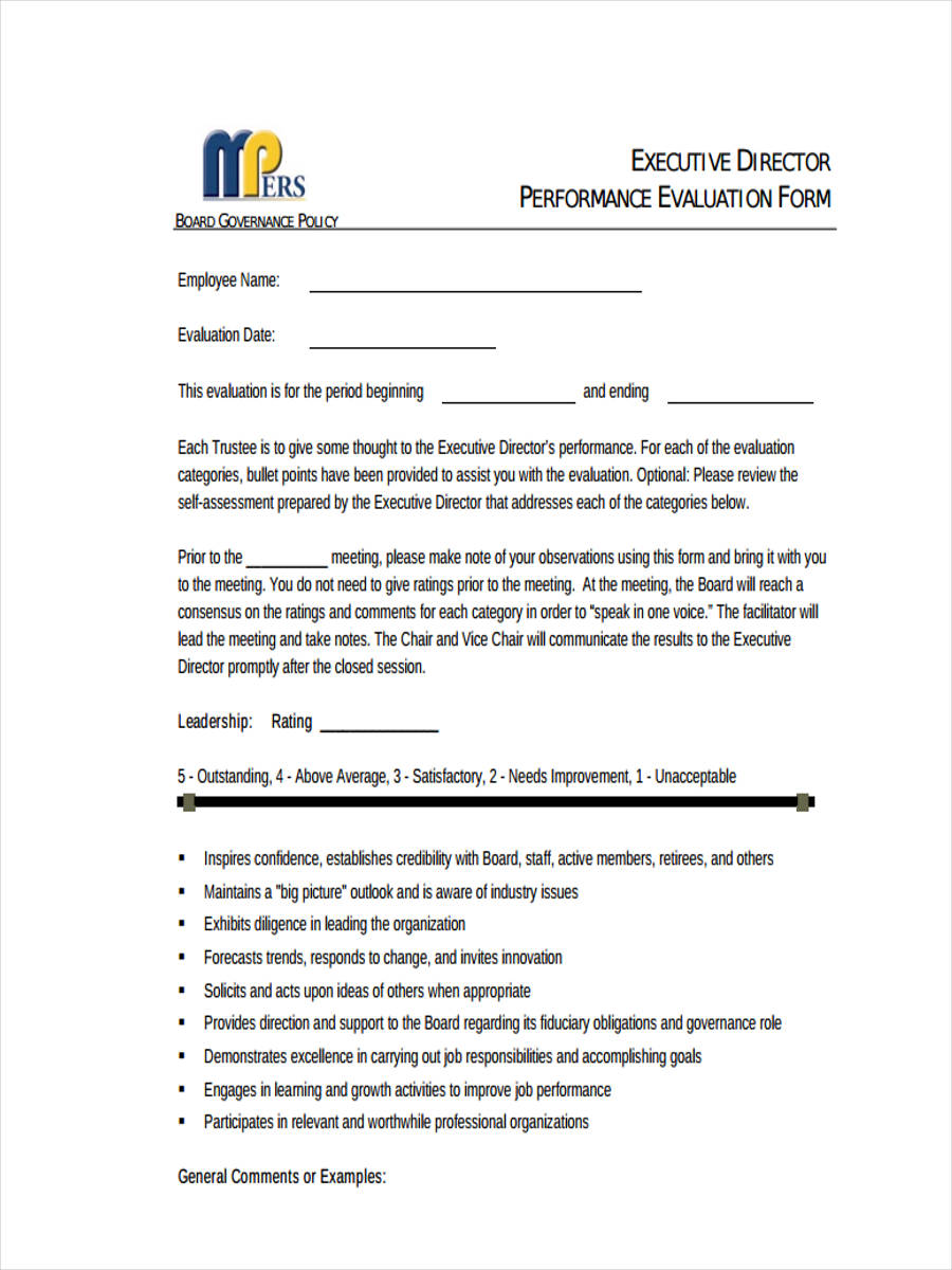 27+ Performance Review Forms in PDF