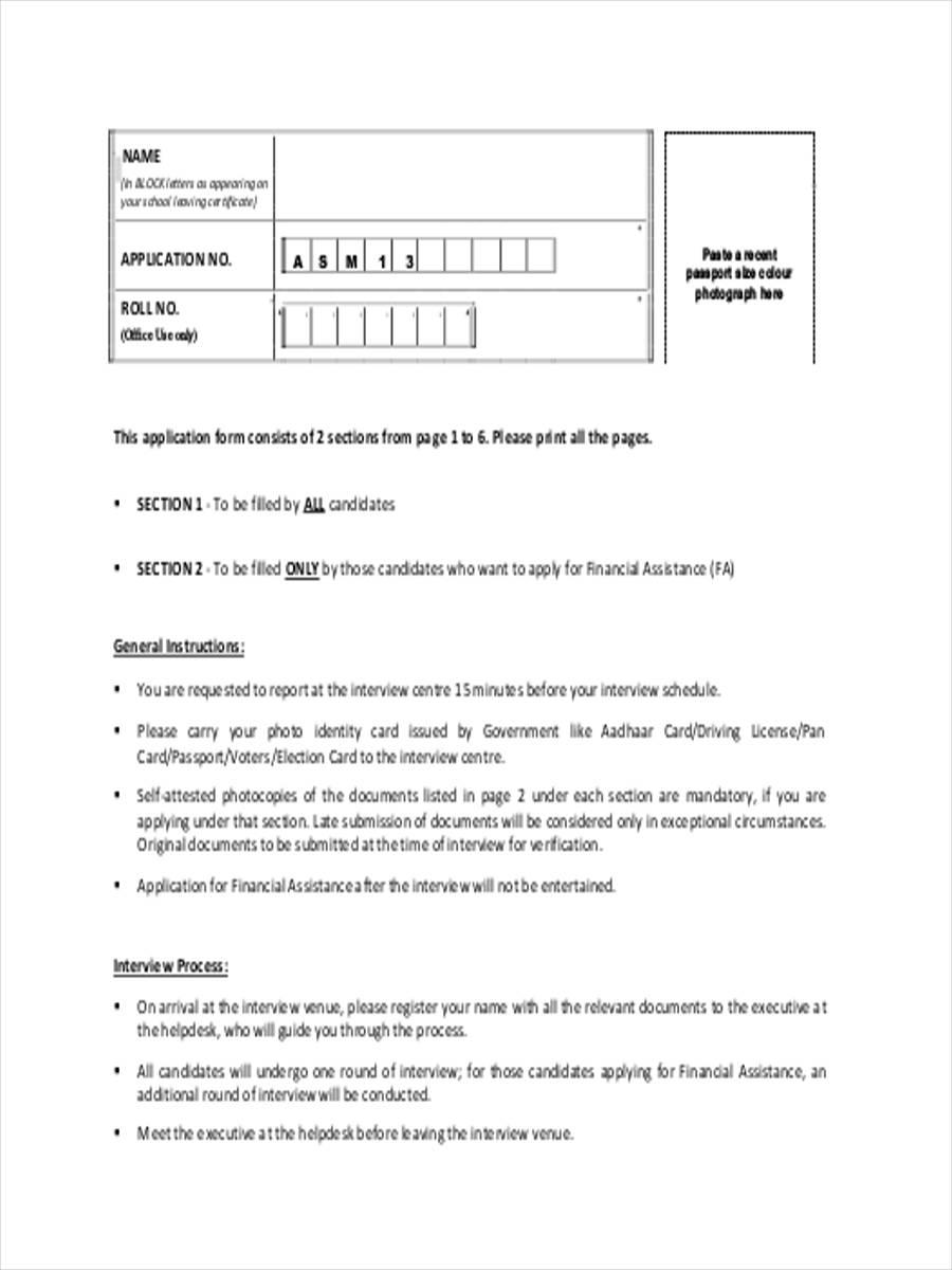executive interview assessment
