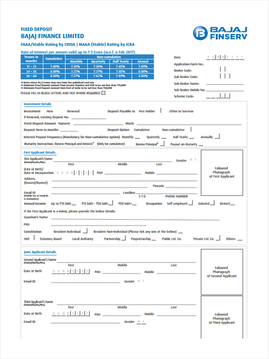 fixed deposit application1