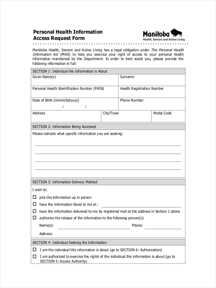 Release Of Personal Information Form leave administrator cover letter
