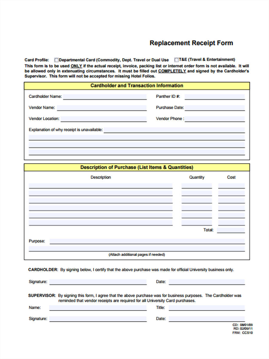Hotel receipt forms 4 free documents in pdf hotel receipt sample thecheapjerseys Choice Image