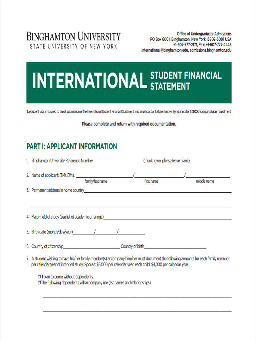 international student financial statement1